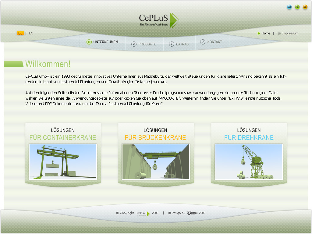CePlus, main interface.