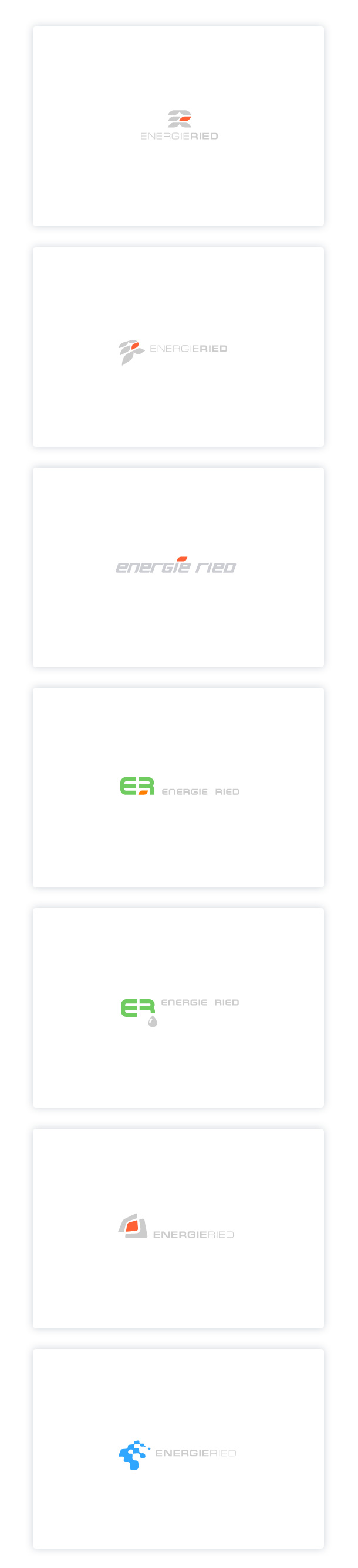 Energieried, other logo versions.