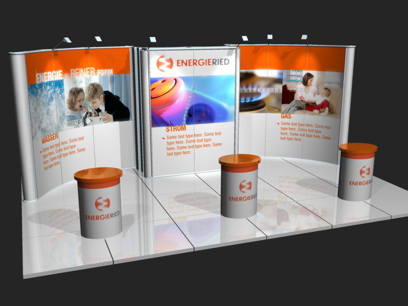 Energieried, exhibition stand.