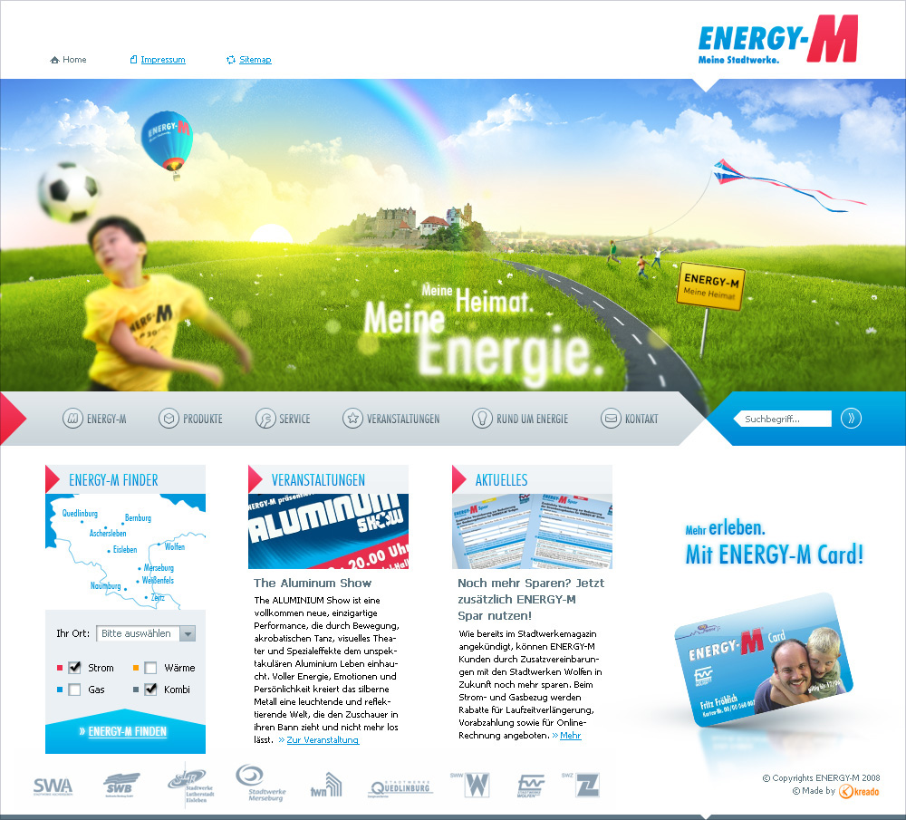 Energy-M, main page 1.