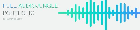 Kontramax portfolio on Audiojungle