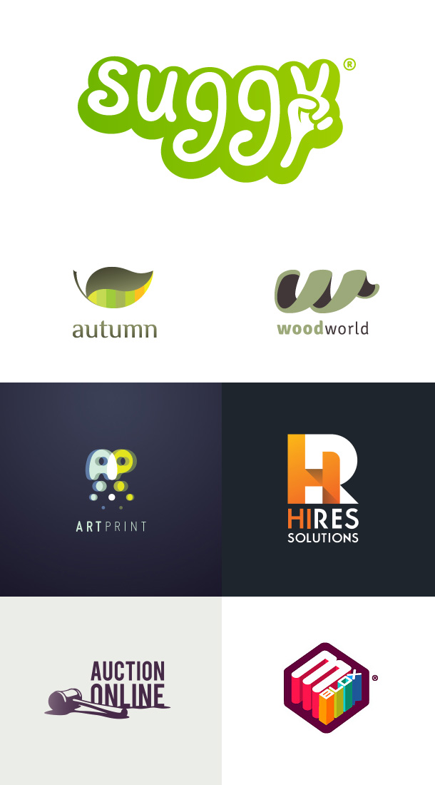 Rejected logos on Creattica