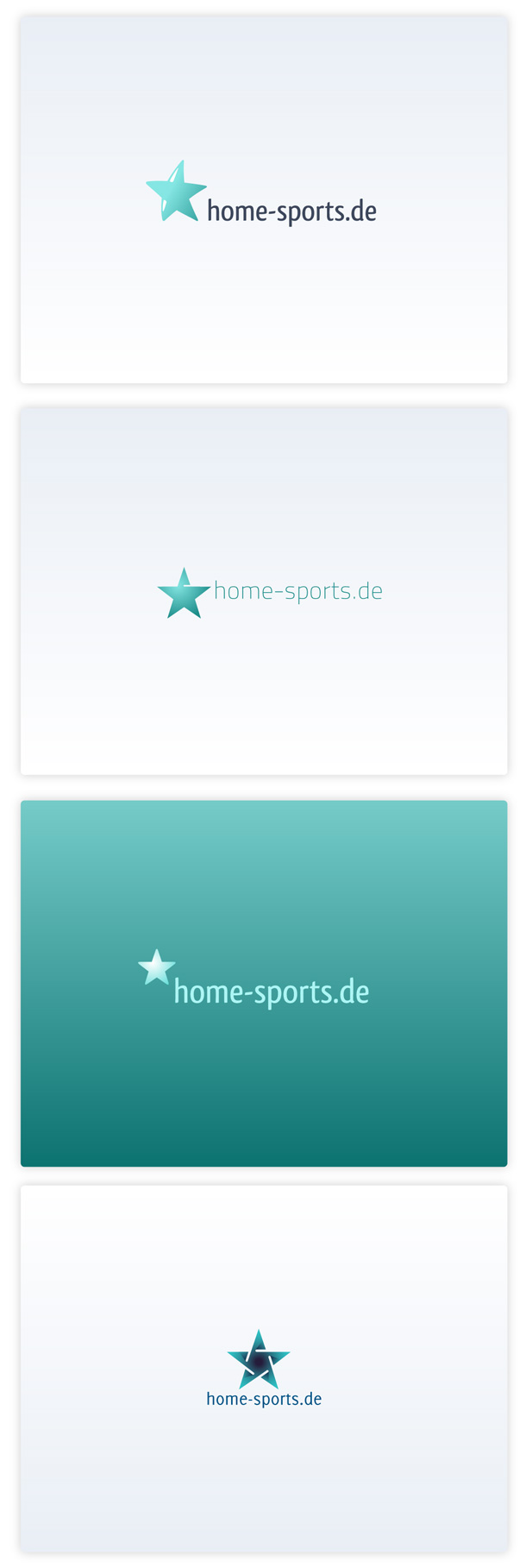 Home-Sports.de, other logo versions.