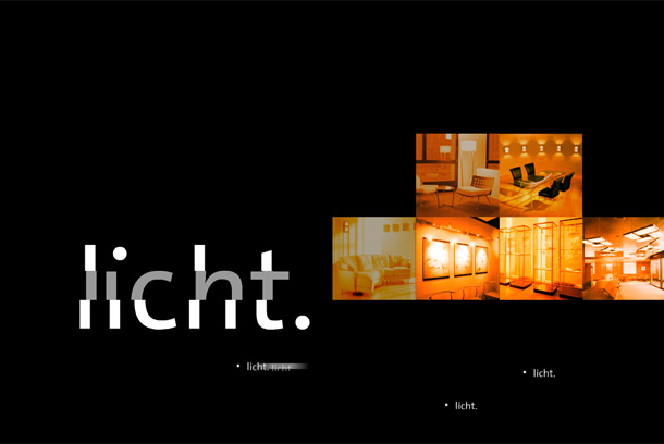 idee. design. licht. CD Intro Animation