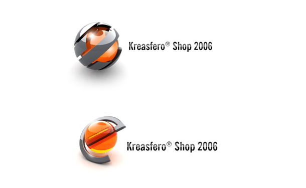 Kreasfero Shop, other logo versions.