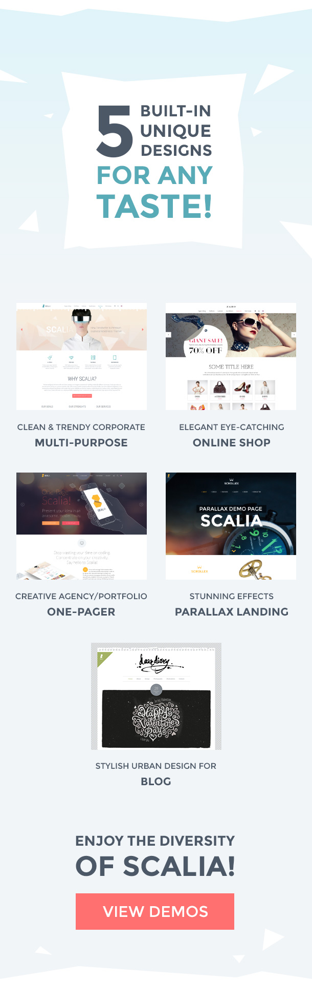 Scalia Multi-Concept Business, Shop, One-Page, Blog Theme