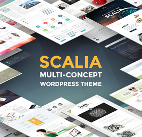 Scalia — Multi-Concept Business, Shop, One-Page, Blog Wordpress Theme