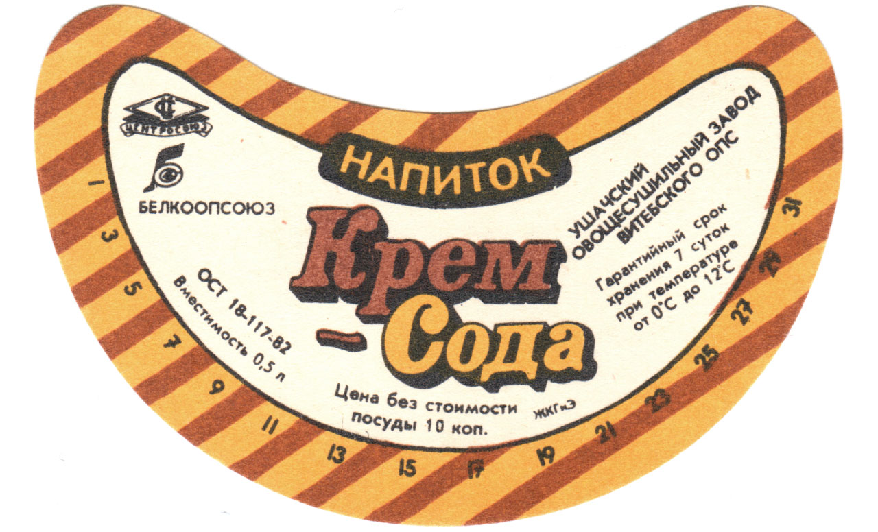 Old Soda Labels
