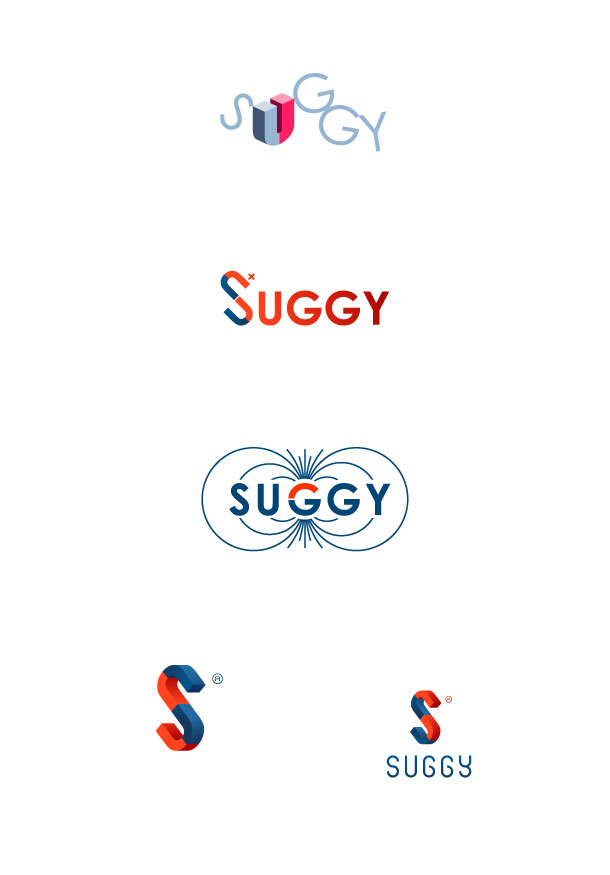 Suggy, some draft logos