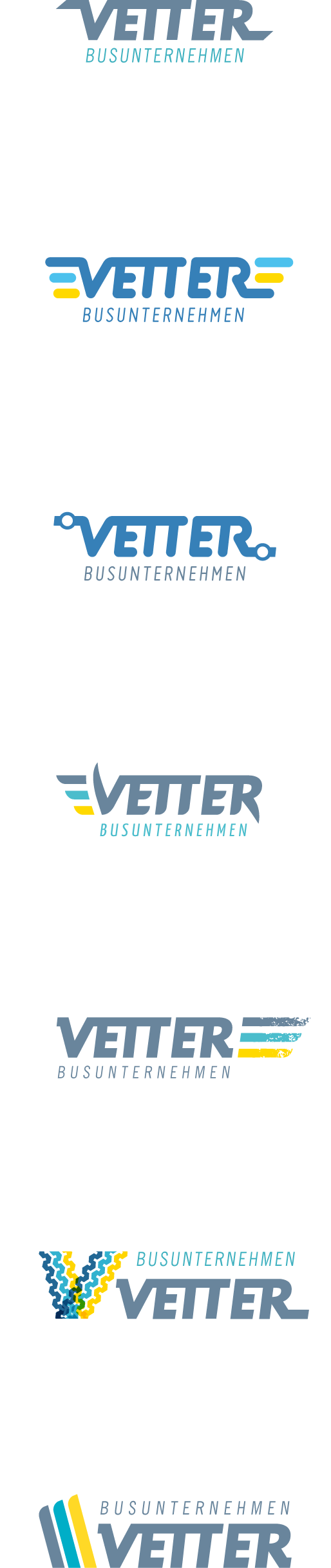 Vetter, other logo versions.
